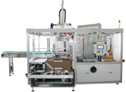 De automatische Verpakkende Machine van de Verpakking van het Geval van de Doos van het Karton voor het Voedsel van het Weefsel