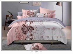 Klassische Art druckte Polyester80gsm Bedsheetsduvet-Deckel-Kissenbezug-Bettwäsche-Leinen