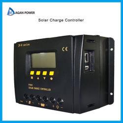 50A солнечного контроллера заряда 24V 12V PWM панели солнечной батареи интеллектуальный контроллер регулятора с портом USB и ЖК-дисплей