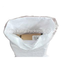 Tejido de polipropileno resistente al agua fertilizante químico de la bolsa de embalaje con camisa de PE