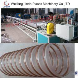 PU 나선형 철강선 덕트 생산 라인 PU 철강선 덕트 압출기 기계
