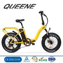 Queeneか新しいモデルEのバイクかFoldable電気自転車48V Motorlifeの電気バイクの折りたたみを折る20インチの脂肪質のタイヤ