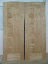 Pelle di legno del portello modellata documento melammina/dell'impiallacciatura MDF/HDF
