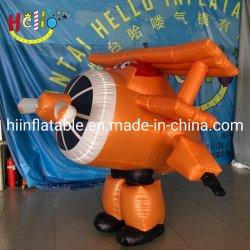 Partie de la décoration des costumes d'avion de la publicité de la mascotte de costume d'avion gonflable