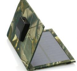5w panneau solaire pliable DC Téléphone mobile portable USB plat Chargeur de batterie d'ordinateur Sac de pliage