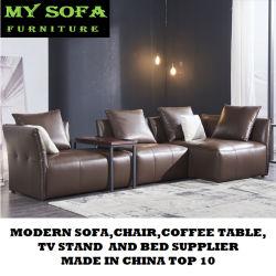 Кожаный диван в форме буквы L, деревянной мебели диван мебель снимков