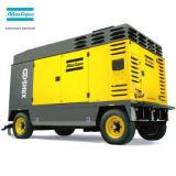 Atlas Copco AC lubrifiés mobile portable Diesel haute pression compresseur à vis pour la construction urbaine d'exploitation minière