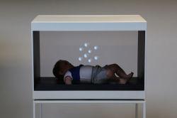 ganz eigenhändig geschrieber Bildschirm 1side mit vollem HD virtuellem Bild, Schaukasten-Hologramm