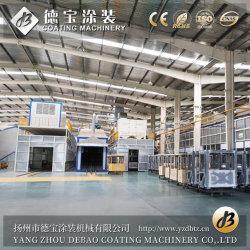 Pulverização eletrostático da linha de pintura por pó automática de material de revestimento com o SGS