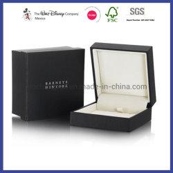 内部の皿によって包むカスタマイズされたハイエンド宝石類包装ボックスギフト用の箱