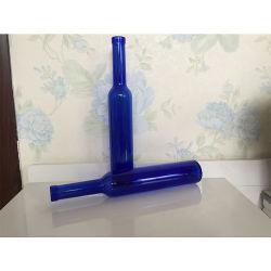 375ml Bouteille de vin de glace bleu royal bouteille en verre de vodka