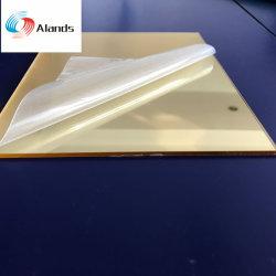 1-6mm Prata e Ouro Acrílico Folha Espelho Retrovisor Interior da placa de plástico para mobiliário e decoração
