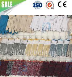 Gants en latex de coton à la main Knitting Making Machine pour le commerce de gros du travail des gants de ligne d'assurance-fils de coton gants gants de protection de la production industrielle