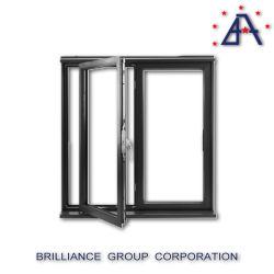 La norme australienne de double vitrage aluminium trempé encadrée des portes battantes