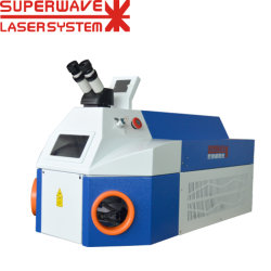 Machine de van uitstekende kwaliteit van het Lassen van de Vlek van het Nikkel van het Platina/van het Titanium/van de Laser van Legeringen om Oogglazen Te herstellen