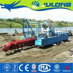 La construcción naval de recuperación de tierras utilizadas para la venta de barco de dragado