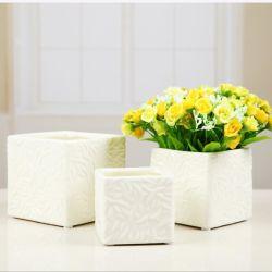 Bureau Bureau balcon plante décorative Pot Matte de vases en céramique moderne