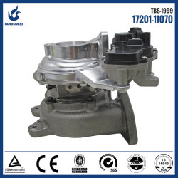Toyota CT16V 17201-11070 1720111070 1GD 2GD 전기 터보 충전기