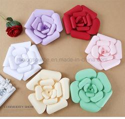 結婚式の装飾の人工花の手すき紙の花