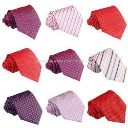 De gemengde Stropdassen van Paisley van de Zijde van de Polyester van Kleuren Goedkope voor Mens