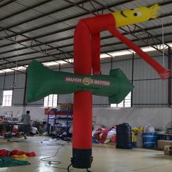 Danzatore gonfiabile rosso alto del cielo dell'uomo di pubblicità di 6 m. (AIR-022)