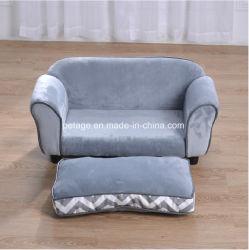 Hölzerne Welpen-Produkt-Plüsch-Haustier-Sofa-Zubehör-Hundebetten