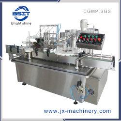 Machine van de Capsuleermachine van de Verzegelaar van de Vuller van de Snelheid van de Fles van het Aërosol van de nevel 5-30ml de Midden Vloeibare