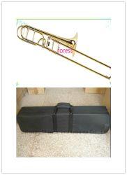 Commerce de gros trombone ténor en laiton jaune référence Shires