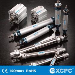 Fabricante China Airtac SMC Festo ISO6432 Micro Compact Padrão de alumínio Mini Aço Pneumatic Cilindro de Ar