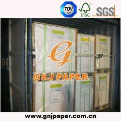 Белая бумага с покрытием A2 128 GSM мелованная бумага с вилами для поддонов упаковка