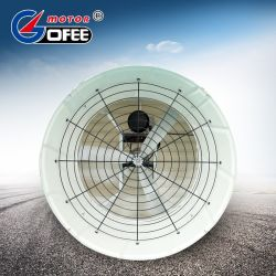 Montage mural industrielle de grande taille de cône de ventilation du ventilateur d'échappement