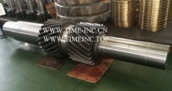 Aleación de acero forjado se gira el eje de transmisión