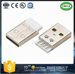De mini USB Schakelaar Vrouwelijke USB van de Vergaarbak USB (FBELE)