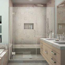 Custom-Design Frameless écran de douche pour portes de douche Salle de bains 2018
