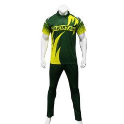 Maglia da cricket da uomo Healong Sportswear Sublimation Custom Cricket