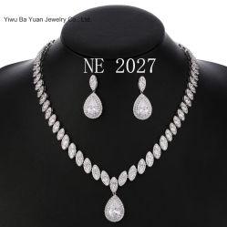 Les femmes du mariage robes de mariée CZ bijoux Set Fashion CZ Ensemble de collier pendentif bijoux de mode fashion