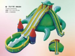 Vergnügungspark riesiges Inflatables Wasser-Plättchen für Verkauf