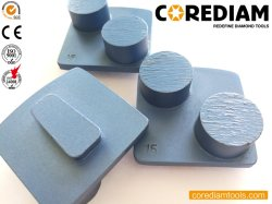 2 Segments Redi Secteur de broyage de verrouillage/diamant Outil/plaque de broyage/Tête de broyage