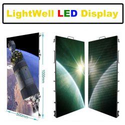 Carte d'affichage de publicité LED Intérieur Extérieur P3.91 P4.81 écran LED de l'étape de concert avec boîtier en aluminium 500*1000