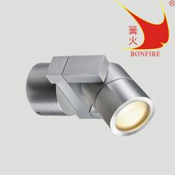 LED de alumínio ajustável luz de parede no local ao ar livre
