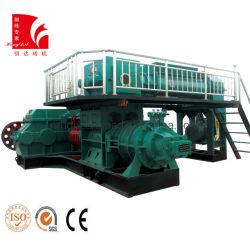 machine à fabriquer des briques d'argile rouge solide pour l'Inde de la machine de l'extrudeuse