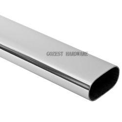 Tubo d'acciaio del tubo ovale del metallo del Governo del guardaroba della mobilia del bicromato di potassio del ferro