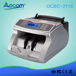 OCBC-2118 Geldmixed Bill Banknote Counter mit großem LCD