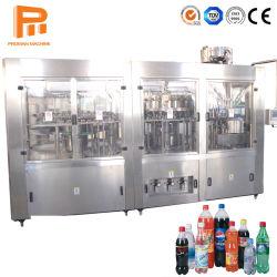 Frasco de plástico PET automática de suco de sabor das bebidas refrigerantes bebida Cola gás CO2 Carbonato Fenta máquina planta de enchimento de engarrafamento de bebidas