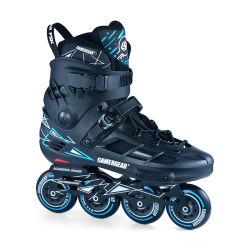 Tamanho fixo Urban Freestyle Slalom Skate com chassis de CNC para adultos