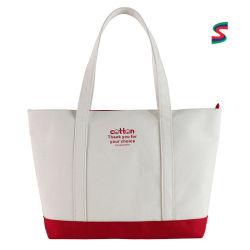 Sac fourre-tout de promotion, la toile Shopping Sac, Sac en toile d'épicerie, personnalisée/Personnaliser sac de coton à cordonnet, Recyclé/sac réutilisable sac cadeau, le logo personnalisé