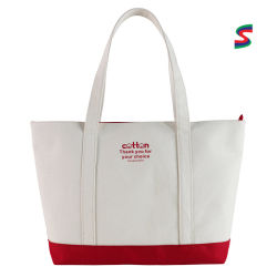 Bolsa promocional Bolsa de mano Compras Bolsa de lona a medida Bolsa reutilizable Bolsa de regalo con logotipo de printe personalizado