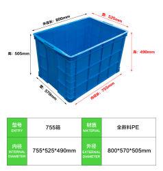 高品質のプラスチックの箱PP/PEの収納箱
