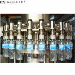 Entièrement automatique l'eau minérale de bouteilles PET 3 en 1 Usine de plafonnement de remplissage de lavage