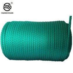 Dekking 12 de Synthetische van de Polyester van Impa Nylon Mariene Slepende Kabel UHMWPE/Hmpe van de Bundel voor het Vastleggen voor de kust en Schip